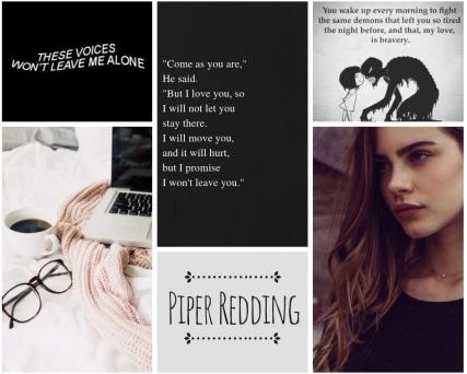 piper redding - story aesthetic