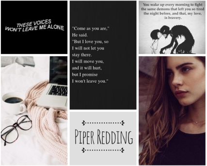 piper redding - story aesthetic