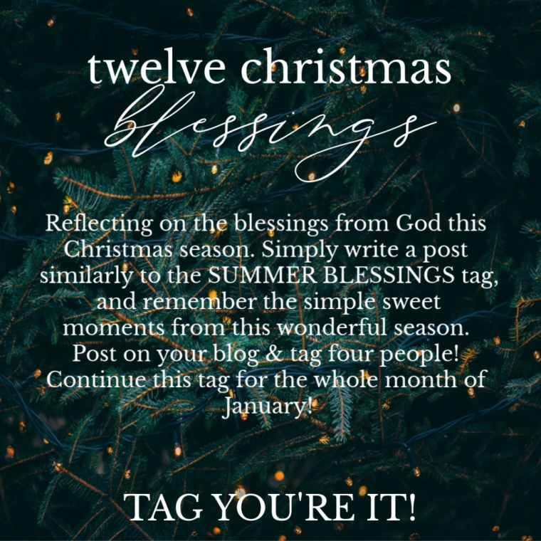twelve christmas blessings