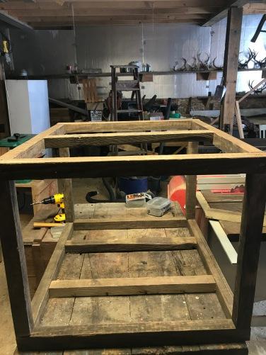 Built the frame