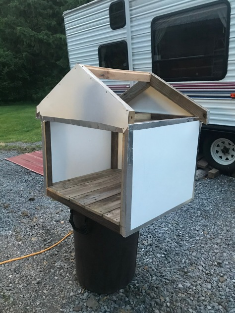 Made a roof frame